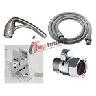 """Chrome Plated Body Spa Handheld Shower Kit with SmartPause 60"""" Hose by Oxygenics"""