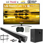 "LG 86SM9070PUA 86"" 4K LED NanoCell TV 2019 AI ThinQ w/ Deco Gear Soundbar Bundle"