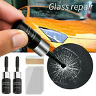 2*Automotive Glass Nano Repair Fluid Car Window Glass Crack Chip Repair Tool Set