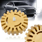 100mm Rubber Eraser Wheel For Adhesive Sticker Pinstripe Decal Graphic Remove US