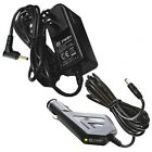 AC Adapter+Car Charger for Venturer Portable DVD Player Power Supply Cord 9V 1A