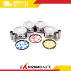 Fit 04-11 Mitsubishi Outlander Galant Eclipse Lancer 2.4 4G69 Pistons with Rings