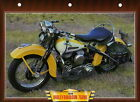Harley Davidson 750WL 750 WL 1948 Motorcycle Big Photo 40's Classic American