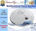 Ozone generator baby feeder sterilizer fruit vegetable sterilizer air purifier