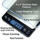 500g x 0.01g  Digital Jewelry Scale 0.01 gram Precision Scale w/ Piece Counting