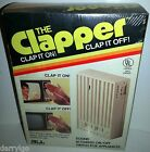*VINTAGE* The Clapper Clap On & Off Original In Box 1984 80s NEW & SEALED! RARE!