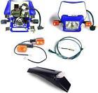 Dual Sport Kit, EZ Mount Husky/Husaberg E-Start Blue by Baja Designs