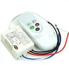 2 Ways Port ON/OFF 110V Light Digital Wireless Wall Switch + Remote Control