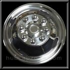 "1 Single Front 16"" 2009-2010 Chevy GMC Bolt On Wheel Simulator Trucks Motorhomes"