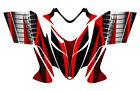 POLARIS SHIFT RMK DRAGON wrap graphics sled deco kit NO1900 Red