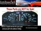 1994 Lexus LS400 Instrument Cluster REPAIR Lighting Needles gauges 1994 LS 400