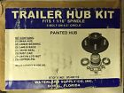 "TRAILER HUB KIT 1 1/16"" SPINDLE 5 BOLT PAINTED WATERLAND SUPPLY 95-HK116"