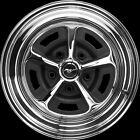 "15X8 MAGNUM 500 CHROME 4.50"" BS - Trim Ring/Center Cap not Included"