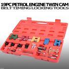 19PC Universal Petrol Engine Twin Cam Timing Locking Car Belt Tool Kit