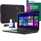 "Toshiba Satellite 15.6"" Laptop Bundle AMD A8-Series 4GB Memory 1TB Hard Drive"
