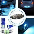 12x Aqua Ice Blue LED Interior Map Light Package Kit For Cadillac DeVille 00~05