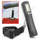 40Kg/10g LCD Digital Electronic Luggage Hook Hanging Travel Scale + Nylon strap