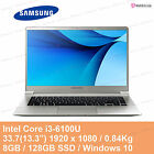 "SAMSUNG Notebook 9 NT900X3L-K38S 13.3"" 0.84Kg Core i3 6100U 8GB 128GB SSD Win 10"