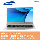 "SAMSUNG Notebook 9 NT900X5L-K38S 15"" 1.29Kg Core i3 6100U 8GB 128GB SSD Win 10"