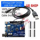 UNO R3 ATmega328P CH340 Micro USB Board for Compatible-Arduino