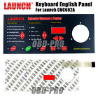 100% Original English Panel For Launch CNC602A injector & cleaner Keyboard