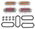 GMK402090569S 1969-1969 Camaro Side Marker Goodmark 4 Markers 4 Bezels Gaskets &