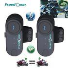 2xNew T-COMVB Motorcycle Bluetooth Multi Interphone headsets helmet intercom FM