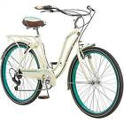 "26"" Women's Cruiser Hybrid Bike Beach City Road Schwinn Retro Town Bicycle Cream"