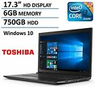 2016 New Edition Toshiba Satellite 17.3 High Performance Laptop With Flagship