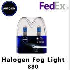 2x New Halogen 880 White Xenon HID Halogen Bulbs Fog Light Bulb 5000k For Ford