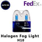 2x New Halogen Light Bulbs H10 Super White Xenon HID Fog Light 5000K DRL