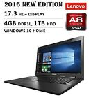 2016 Newest Lenovo Premium High Performance 17.3-inch HD+ Laptop, Windows 10