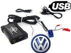 VW Golf Mk6 USB adaptor interface CTAVGUSB009 AUX SD input MP3 jack 2005 onwards