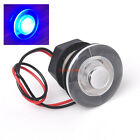 Waterproof Blue LED Rv Courtesy Boat Stair Light Round Interior Exterior 12V