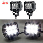2PC 18W LED Work Light Bar Spotlight For Yamaha Suzuki Honda Arctic Cat ATV