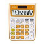 Casio MJ-12VC-RG Electronic Calculator MJ12VC Orange