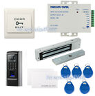 Full Fingerprint EM-ID Access Control System Time Attandance Kit Magnetic Lock