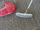 NEW WHITE POWER BILT ONE PUTTER BL 100 ANSER STYLE PUTTER WITH PUTTER COVER