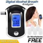 Advance Digital LCD alcohol tester Breathalyzer Alcohol Test Detector for Police