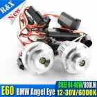 2x High Power CREE R4 40W LED Angel Eyes for BMW E60 Halo Ring Light Bulb 800LM