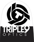 Triple 9 Optics Logo Beanie Black/White 37-2701