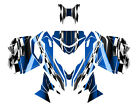 2013 2014 2015 Ski Doo REV XM Summit graphics custom wrap kit #2300 Blue