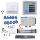 Full Complete RFID Door Access Control system Kit set with 280kg Magnetic Lock