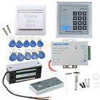 Complete Full RFID Door Access Control system Kit Set With 130LBs  Magnetic Lock