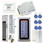Metal Case Waterproof RFID+PIN Door Access Control Security System Kits +EM Lock