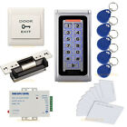 Waterproof Metal RFID Card Door Access Control Keypad/PIN Keypad + Strike Lock