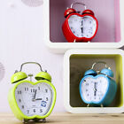 Fancy Strong Hammer Bell Table Clock Analog Home Decor Modern Style are