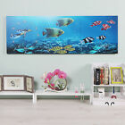 Fancy Aquarium Wall Clock Analog Home Decor Modern Style Display Color are
