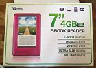 "Pink E Book Reader 7"" Music Video Carrying Case"
