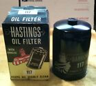 Vintage oil filter Hastings #117 fits 1962 Willys 57-62 Studebaker and more